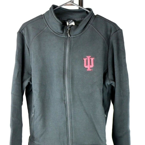 Jackets & Blazers - Indiana Hoosiers Team Script Full Zip Fleece Jacke